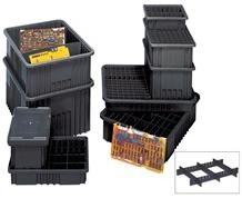 CONDUCTIVE DIVIDABLE GRID CONTAINERS
